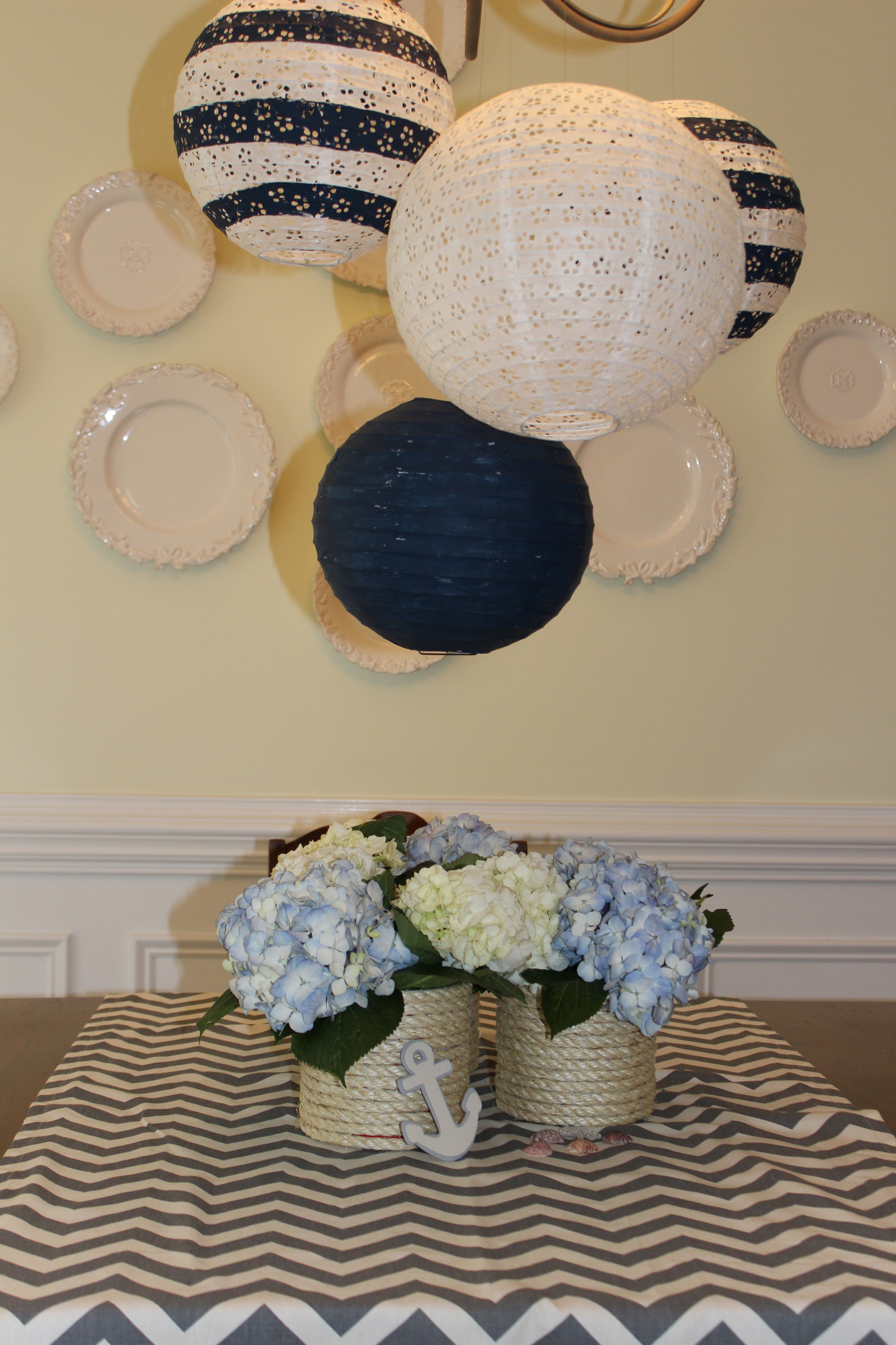 Nautical Baby Shower Sevenlayercharlotte