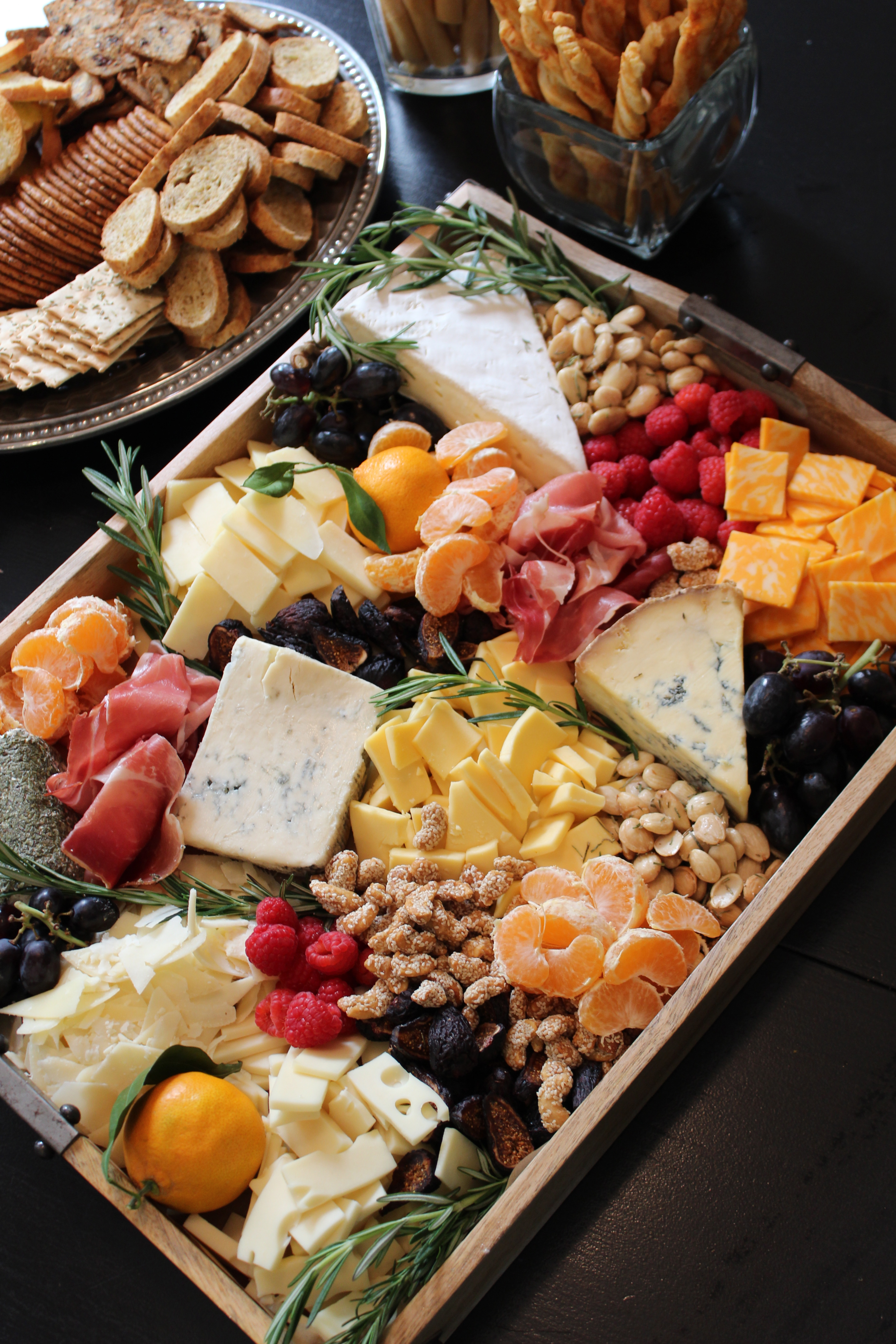Cheese and Fruit Tray: How-To -