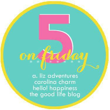 Five on Friday linkup graphic
