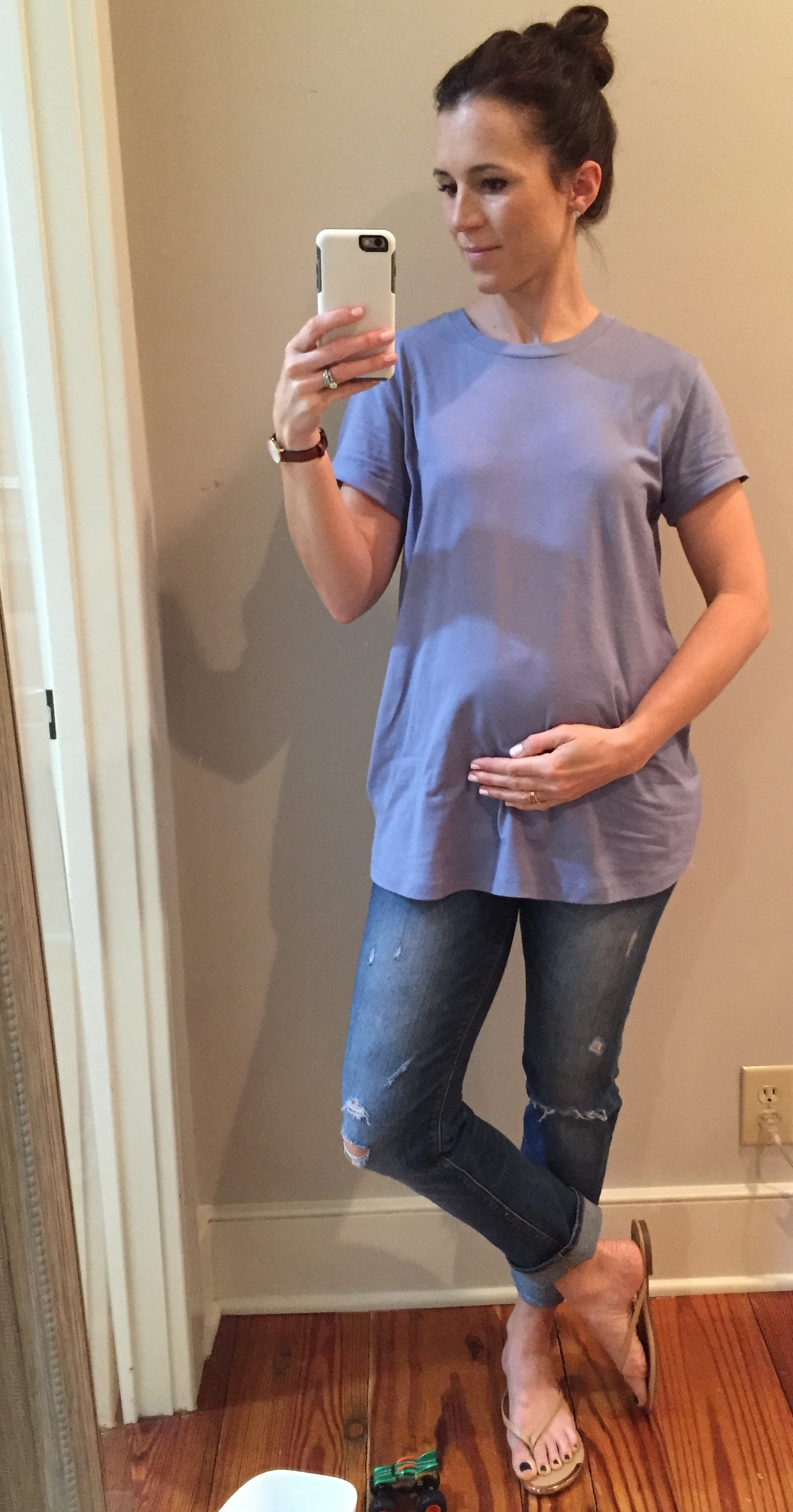 maternity t-shirt from asos