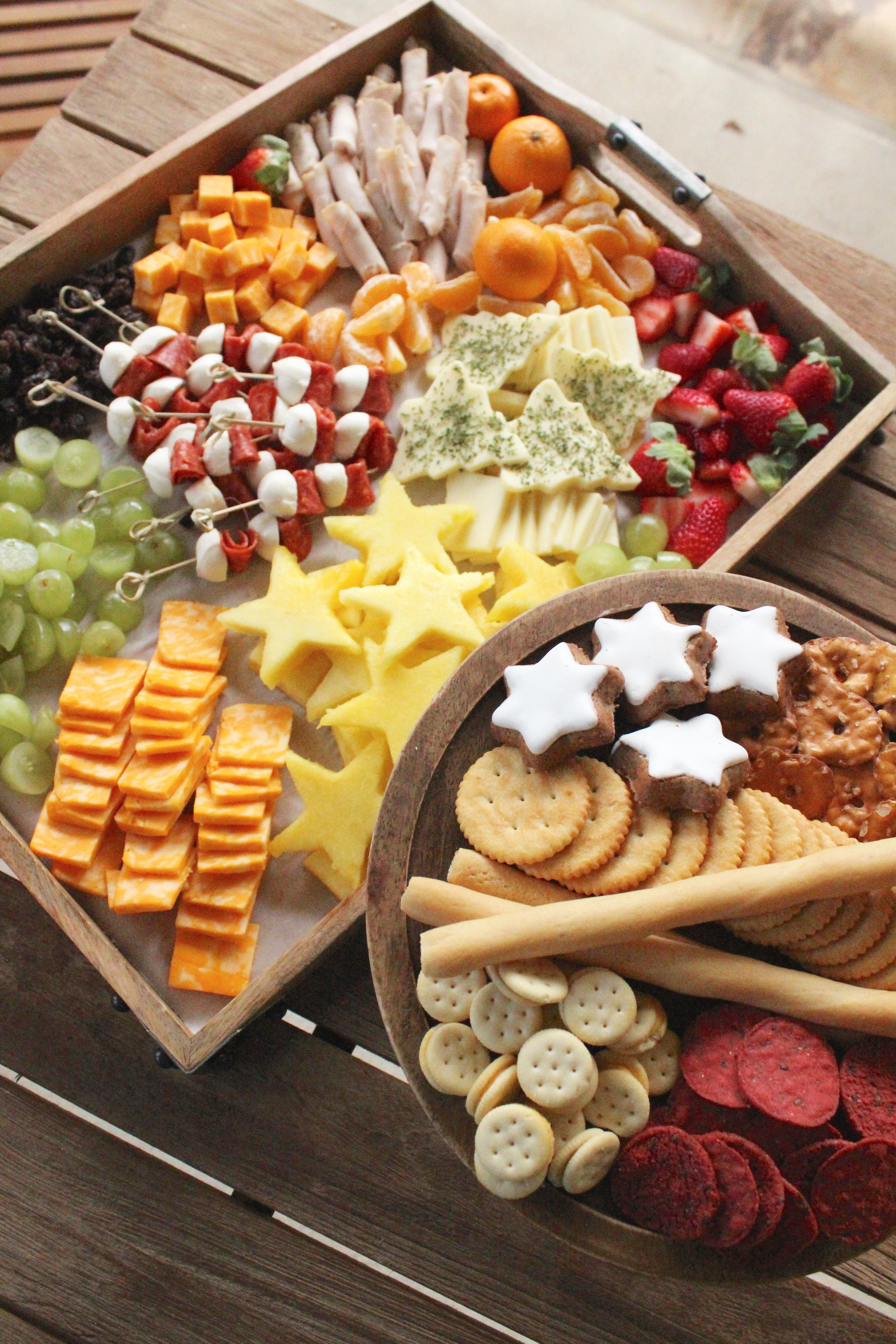 Holiday Cheese Platter For Kids Sevenlayercharlotte